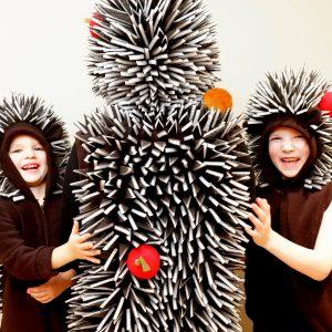 adult hedgehog costume