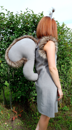 Squirrel costume for woman