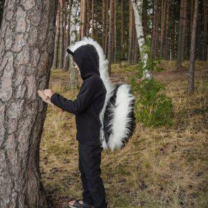 skunk pretend play