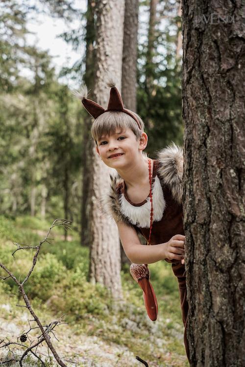 squirrel costume idea