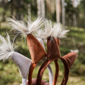 squirrel ears