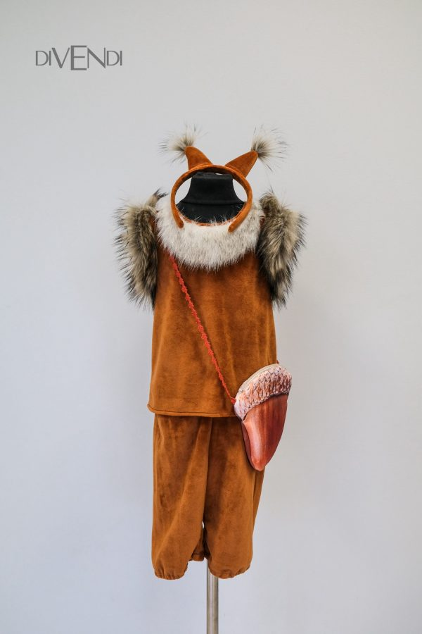 squirrel costume for boy
