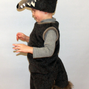 wolf hat and tail