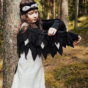 gray bird costume for kids