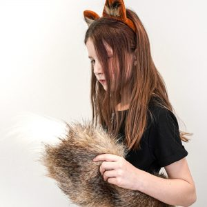 fox tail and ears for kids
