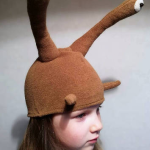 snail hat costume