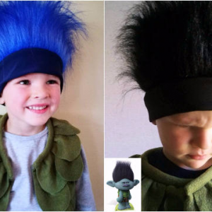trolls costume for boys