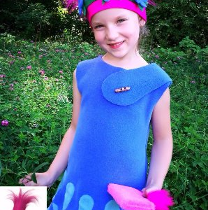 poppy costume for girls