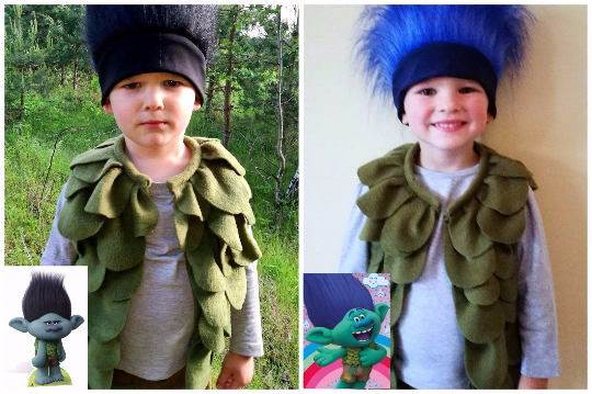 branch costume from trolls