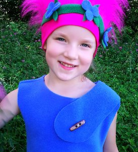 poppy hair wig from trolls