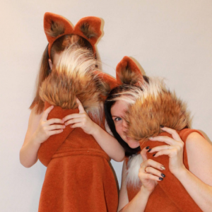 fox costume for adults