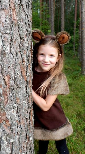 bear costume for girl