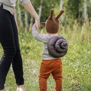 snail pretend play