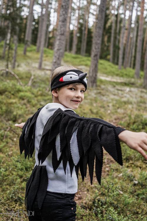 woodpecker costume idea