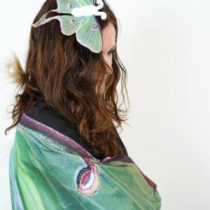 adult luna moth costume