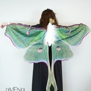 adult luna moth costume
