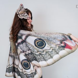 moth dress up