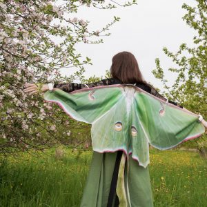 luna moth wings for adults