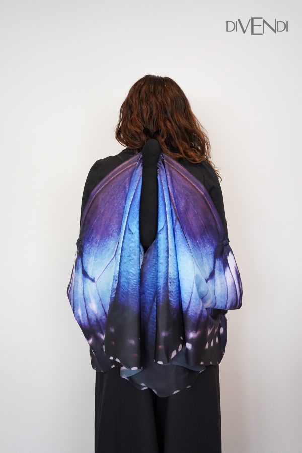 blue butterfly costume