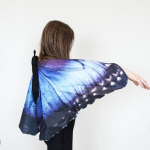 blue butterfly wings for kids