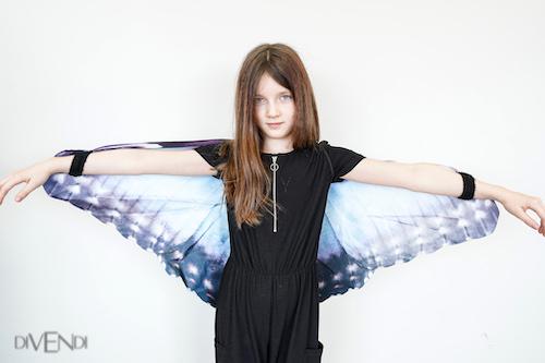 blue butterfly wings for kids