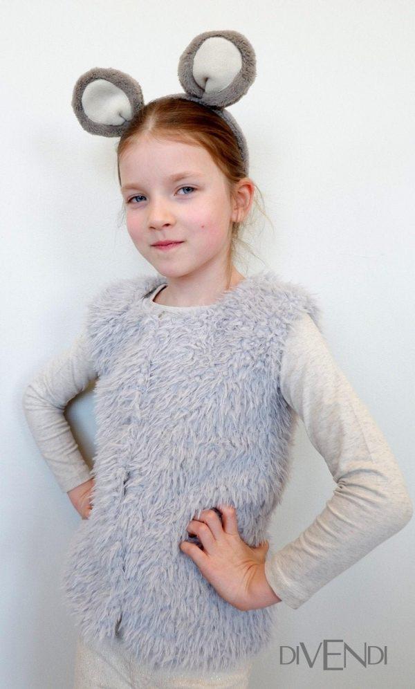 faux fur vest for kids