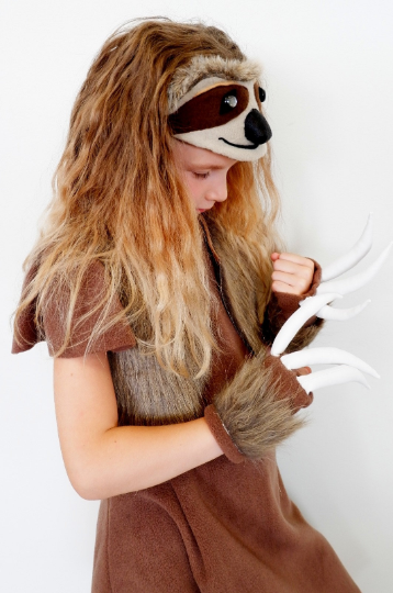 sloth costume for girls