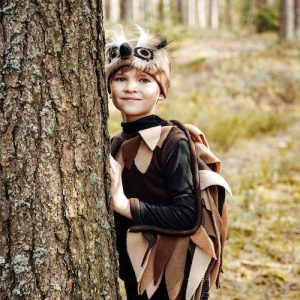 brown bird costume