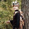 brown bird costume