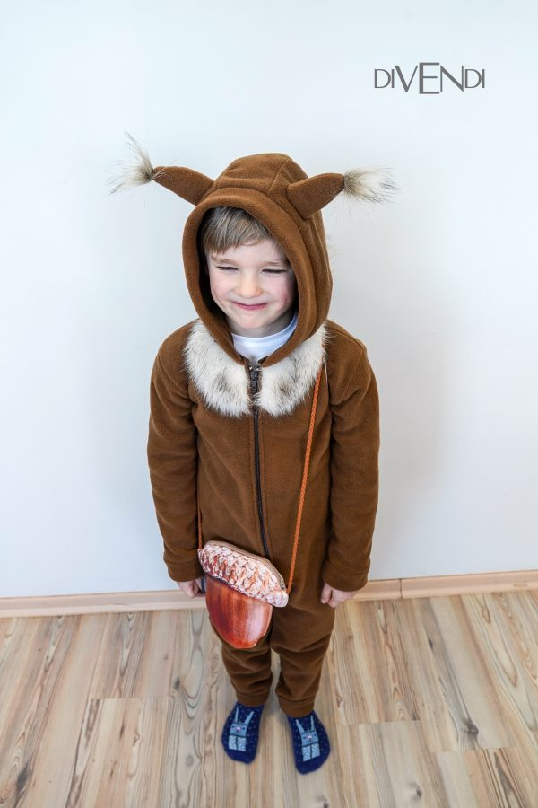 squirrel onesie for kids