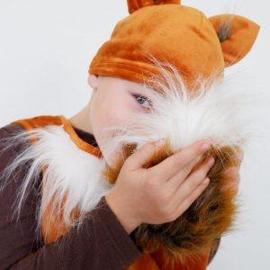 fox costume for boys