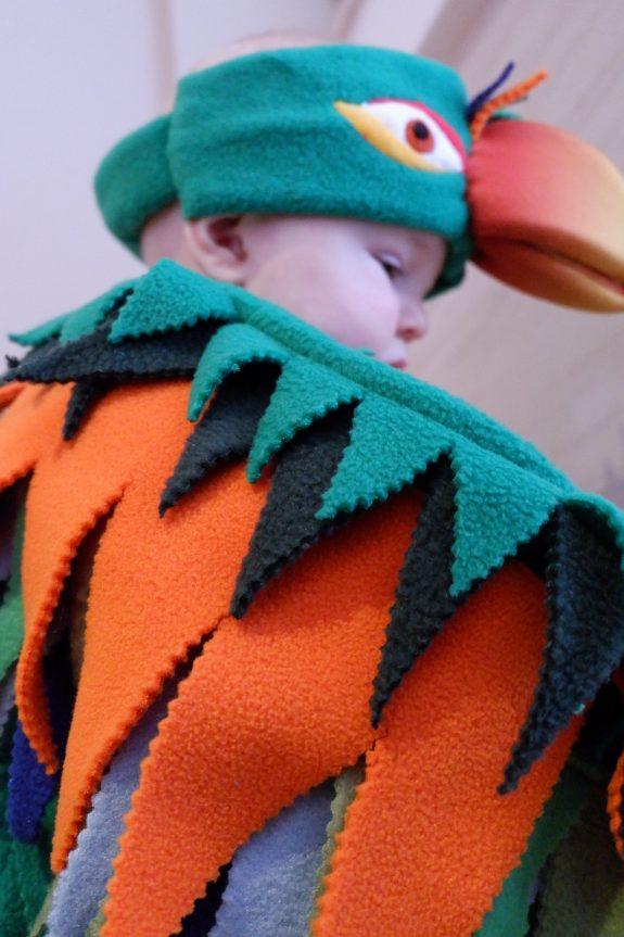 parrot costume for kids