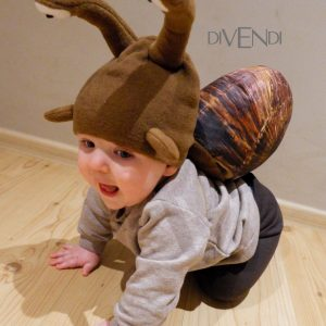 snail costume for kids