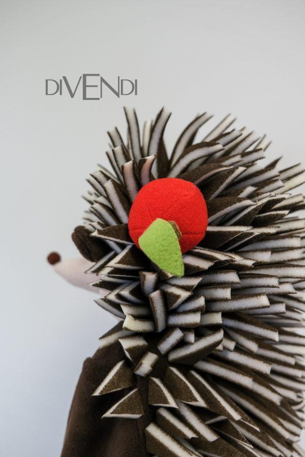 handmade hedgehog costume for girls