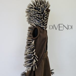 handmade hedgehog costume