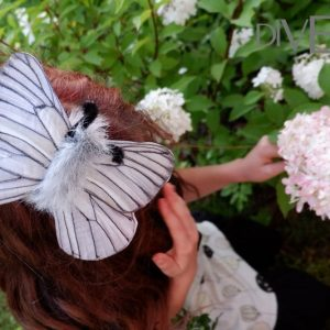 gray butterfly costume