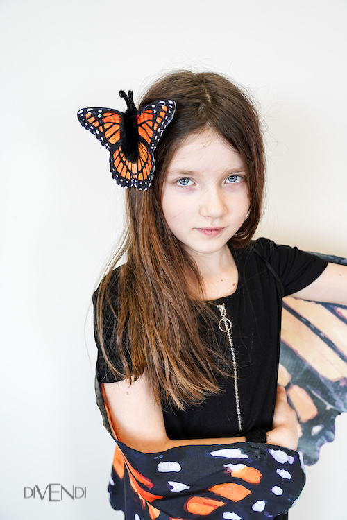 monarch costume wings