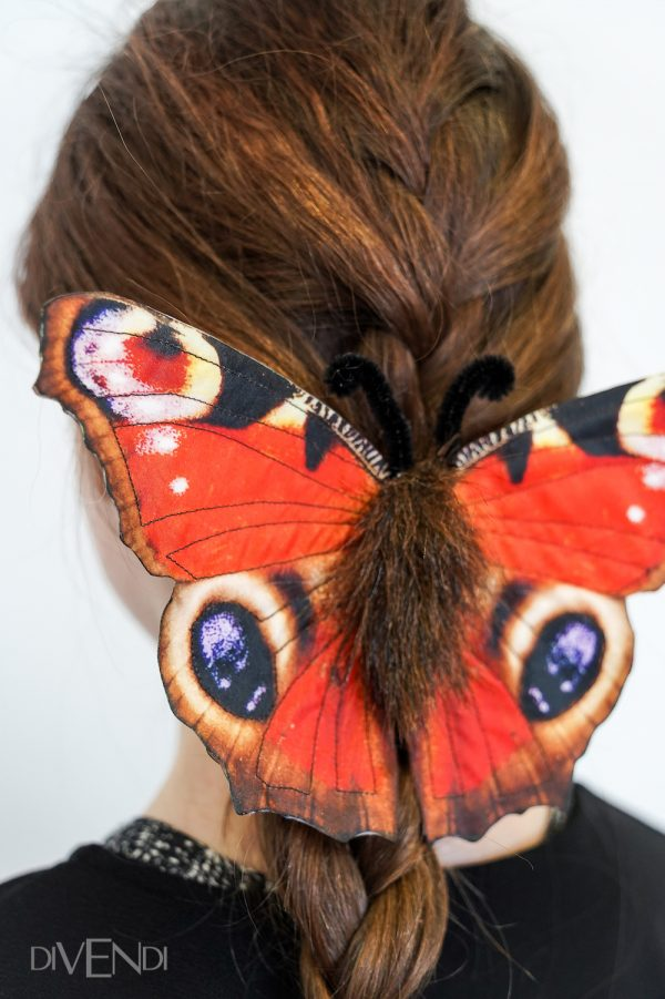 red butterfly accessories