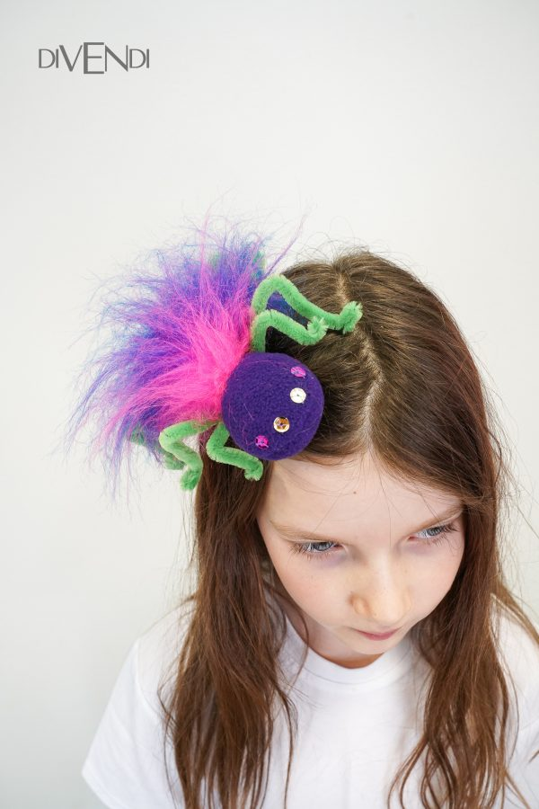 spider hair clip