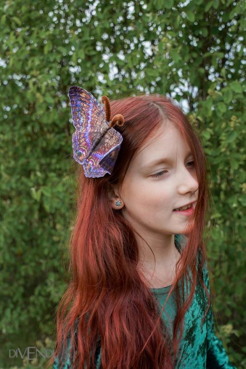 purple butterfly accessories