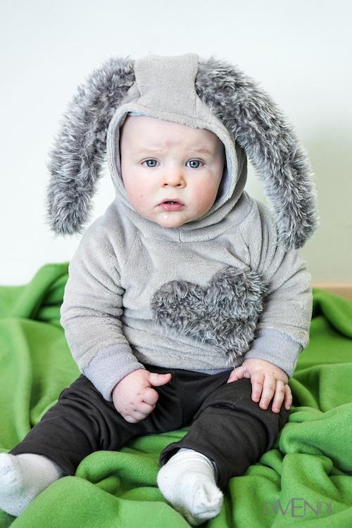 rabbit hoodie