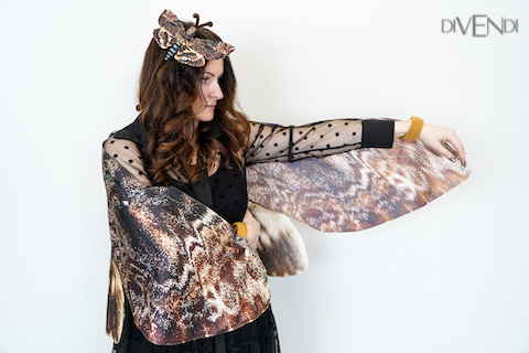 death moth costume