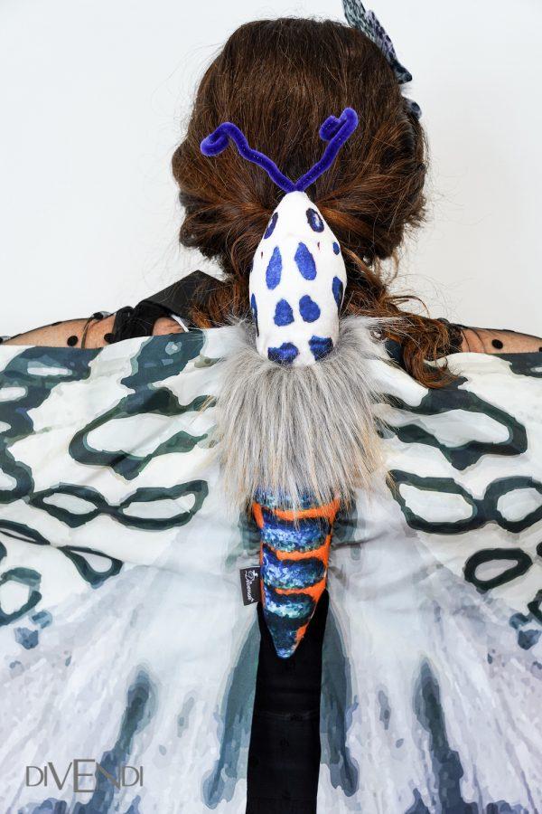 leopard moth wings