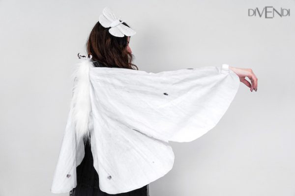 white butterfly costume