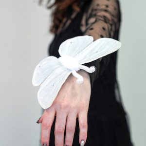 white moth costume