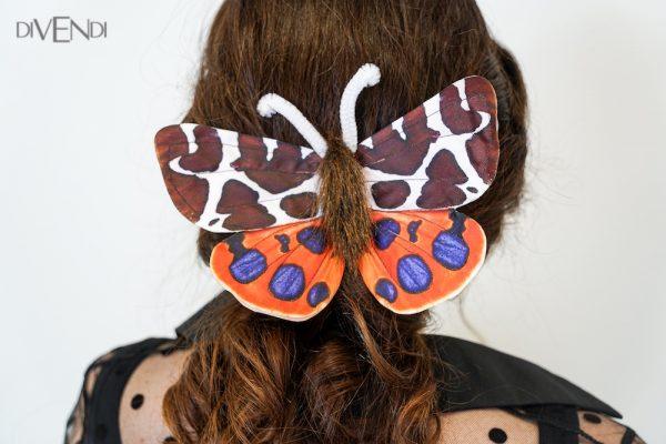 orange butterfly costume