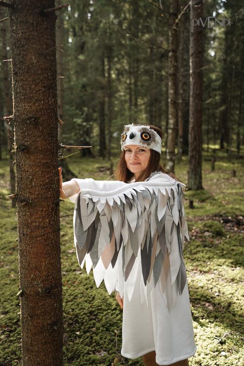 snowy owl costume